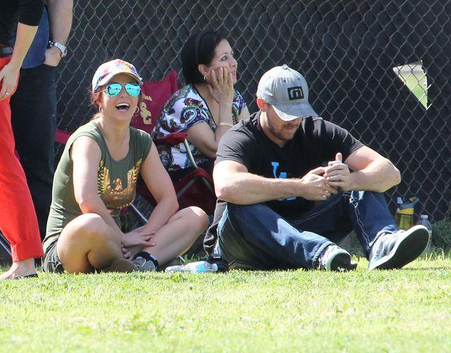 Britney Spears za bardzo zbli�y�a si� do eks m�a?