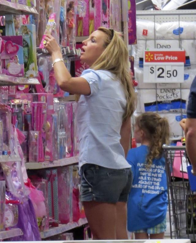 Co Britney porabia�a w sobot�? (FOTO)