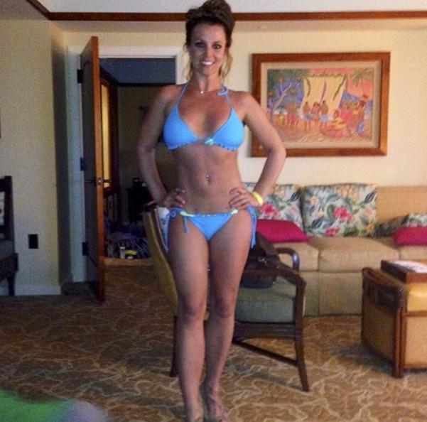 Britney Spears chwali się zdjęciem w bikini (FOTO)