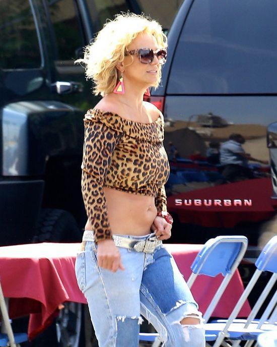 Britney Spears chuda jak patyk? (Insta)