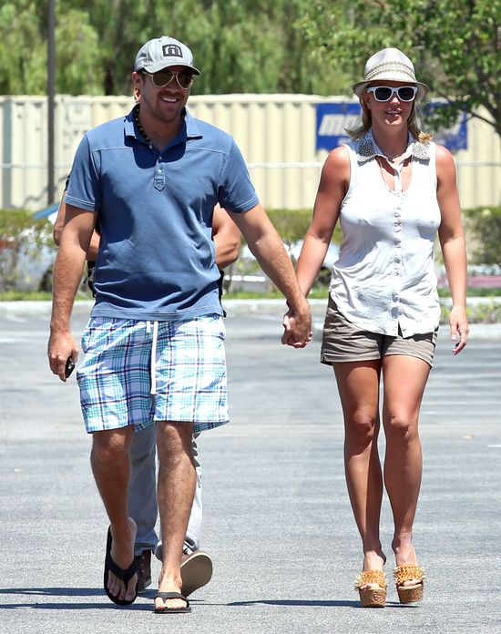 Britney Spears zerwa�a z Davidem Lucado!