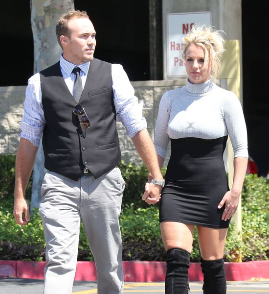 Kościelny szyk Britney Spears (FOTO)