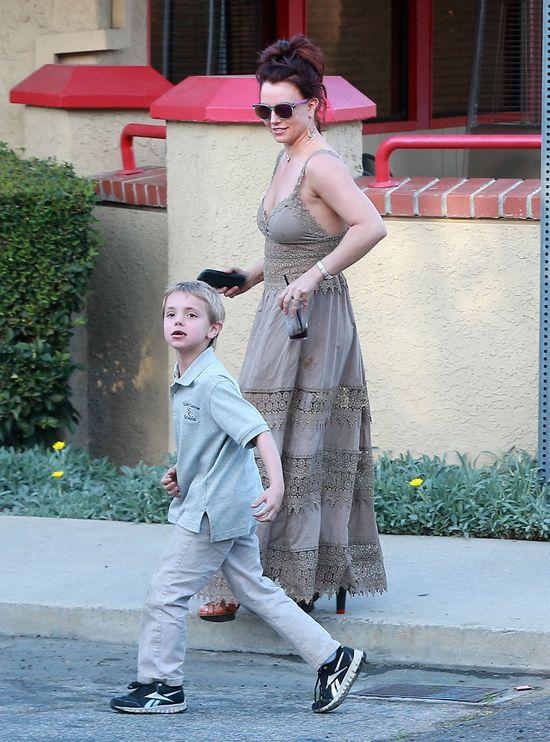 Synowie Britney Spears to małe urwisy? (FOTO)