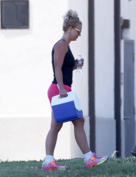 Tak Britney Spears kibicuje synom (FOTO)