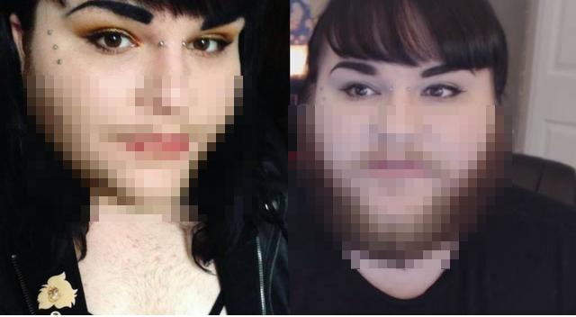 Kobieta z gęstą brodą. Już się nie goli i WIEMY dlaczego!