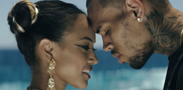 Karrueche Tran wystąpiła w teledysku Chrisa Browna (VIDEO)
