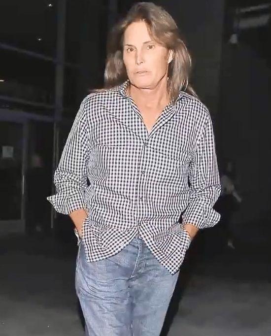Bruce Jenner w pełnym makijażu (FOTO)