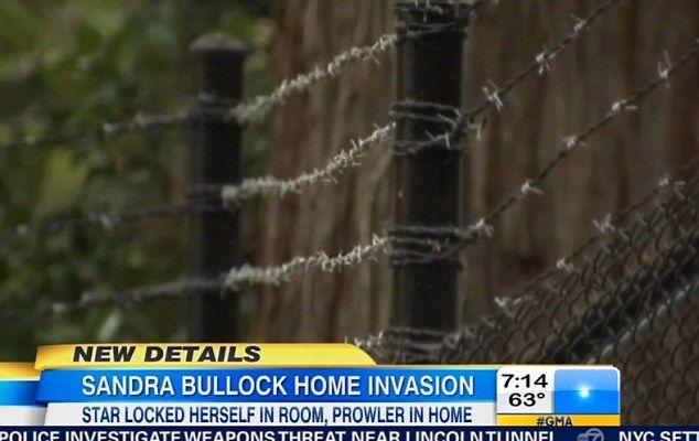 Włamał się do domu Sandry Bullock, gdy ta spała! (FOTO)