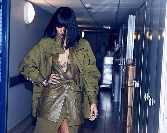 Rihanna na Paryskim Tygodniu Mody, 2014, luty