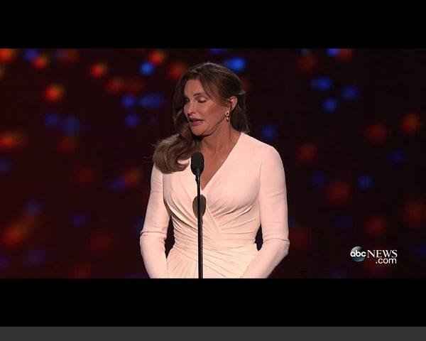 Caitlyn Jenner na gali ESPY [VIDEO]