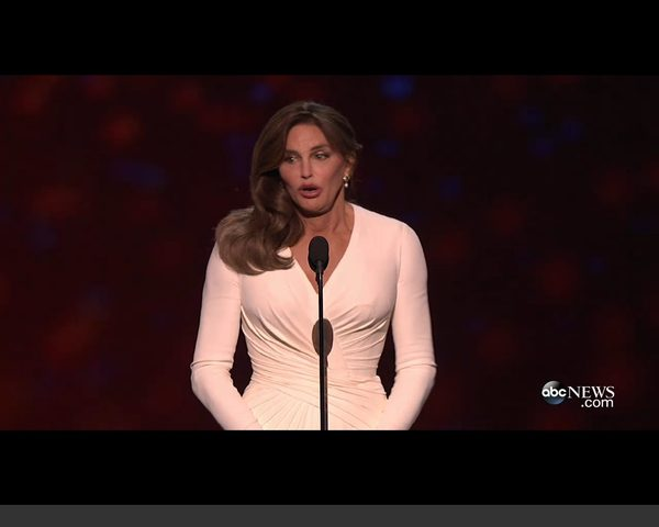 Caitlyn Jenner na gali ESPY [VIDEO]