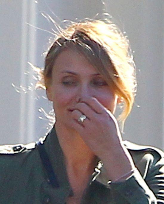 Cameron Diaz pokazała pierścionek zaręczynowy!