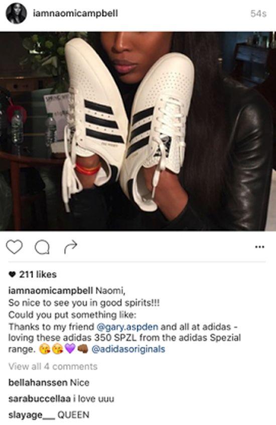Naomi Campbell zaliczyła ogromną wpadkę! Naśladuje... Scotta Disicka? (FOTO)