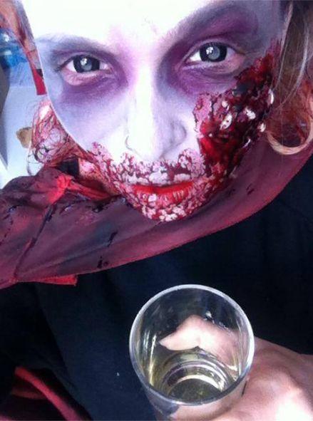 Tak podczas Halloween bawi�y si� polskie gwiazdy (FOTO)