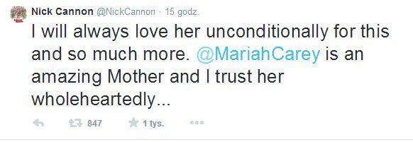 Mąż Mariah Carey zabrał głos w sprawie rozwodu!