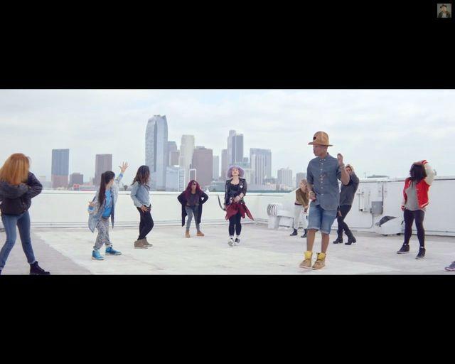 Marilyn Monroe - nowy teledysk Pharrella Williamsa [VIDEO]