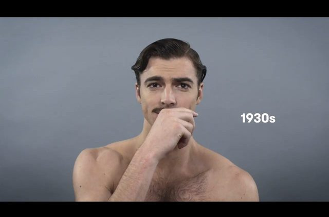 Jak zmieniał się ideał męskiego piękna w ciągu 100 lat