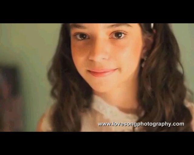 11-letnia dziewczynka na slubnym kobiercu z umierającym tatą