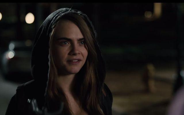 Czy Cara Delevingne sprawdziła się w roli aktorki? (VIDEO)