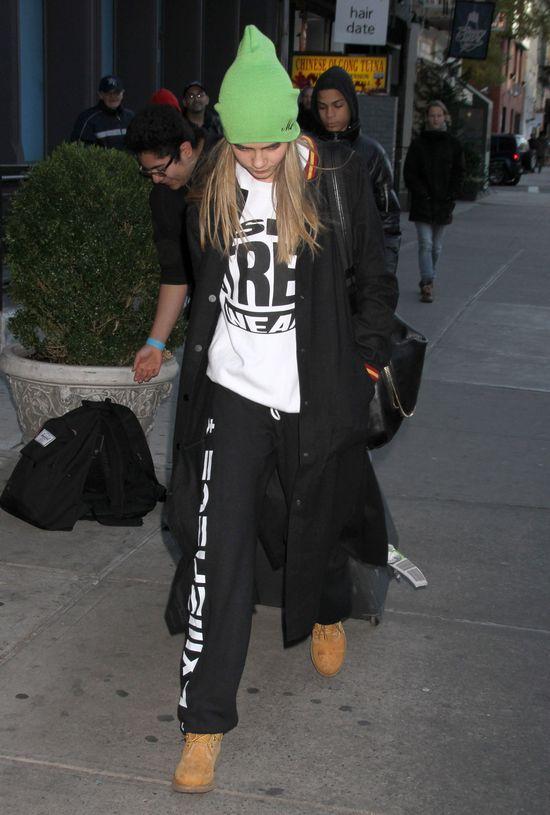 Cara Delevigne jest najorzej ubraną modelką? (FOTO)