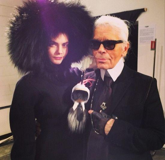 Karl Lagerfeld: Cara Delevingne to nowa Kate Moss