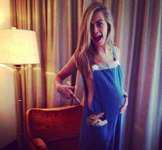Cara Delevingne jest w ciąży? (FOTO)