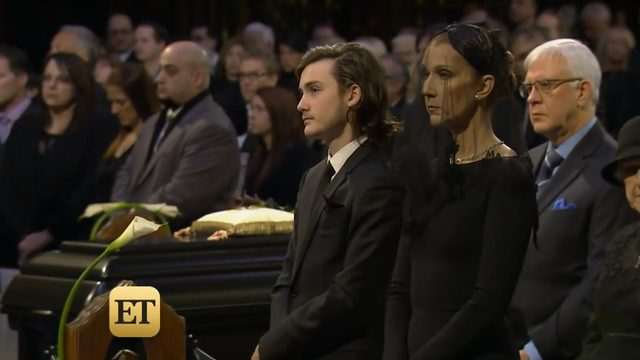15-letni syn Celine Dion po�egna� ojca