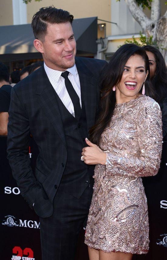 Co za piękna para - Channing Tatum z żoną (FOTO)
