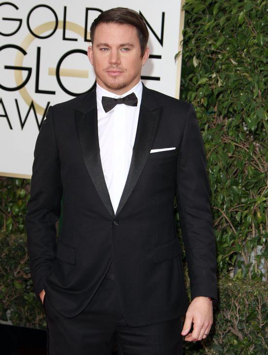 Channing Tatum po Złotych Globach został MEMEM!