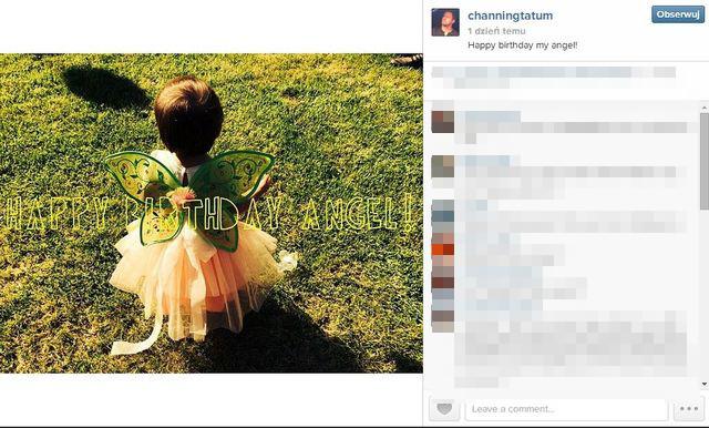 Channing Tatum świętuje roczne urodziny córeczki (FOTO)