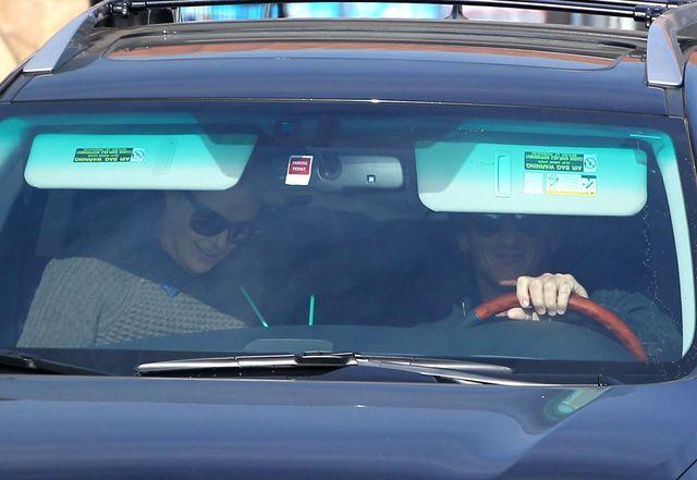 Charlize Theron i Sean Penn nie ukrywaj� si� przed paparazzi