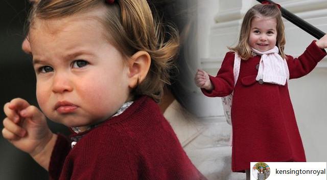Informator zdradza, jak księżniczka Charlotte zachowuje się w przedszkolu