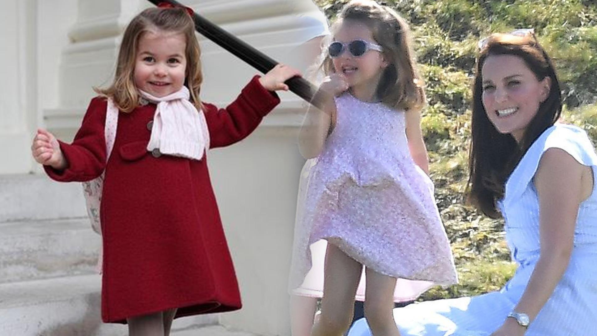Księżna Kate na zakupach zwróciła się do Charlotte w TEN sposób