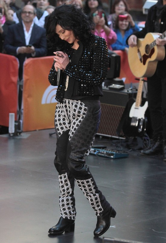 67-letnia Cher w Good Morning America (FOTO)