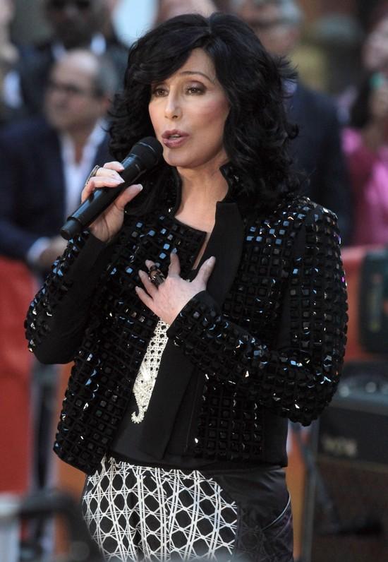 67-letnia Cher w Good Morning America (FOTO)