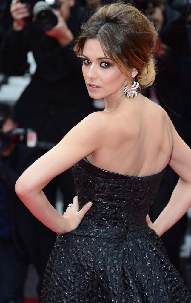 Wiatr u�o�y� choreografi� wyst�pu Cheryl Cole w Cannes