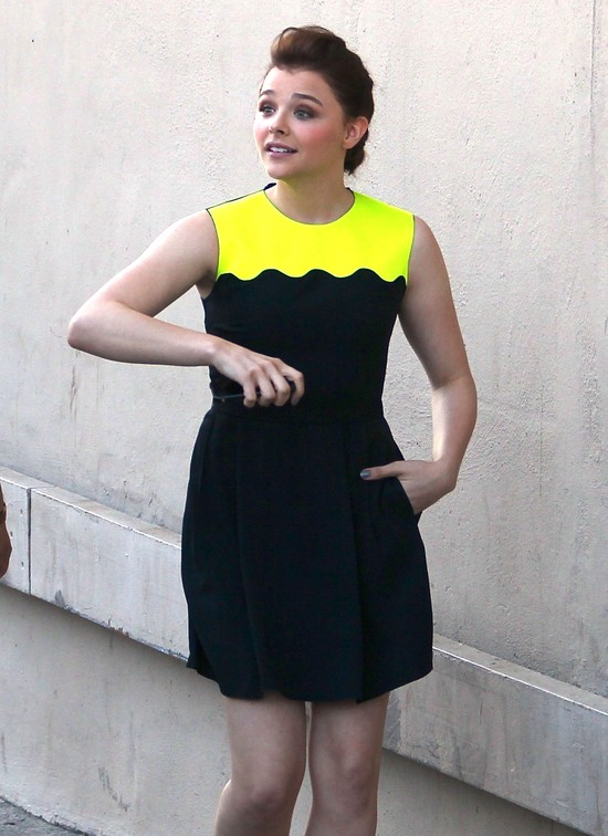 Chloe Grace Moretz przytyła? (FOTO)