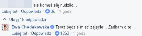 Ewa Chodakowska ju� dawno nie by�a tak WKURZONA (Facebook)