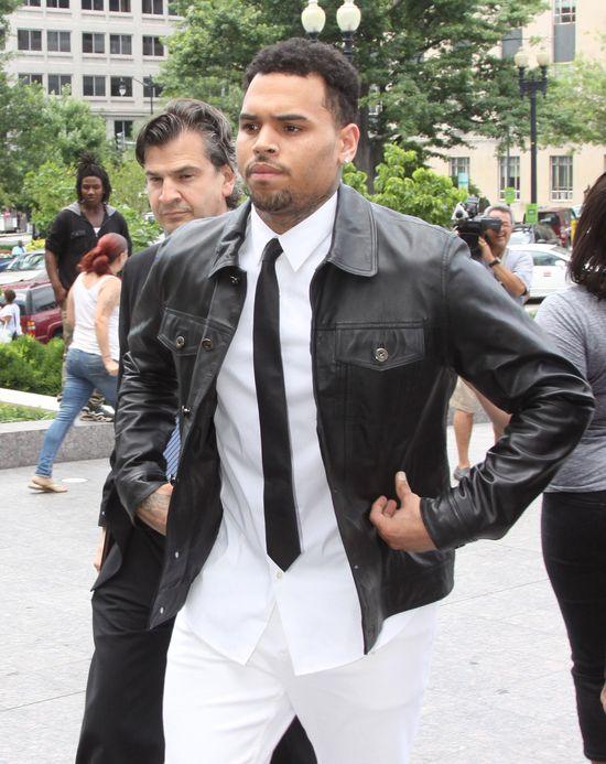 Karrueche Tran oburzona propozycją Chrisa Browna