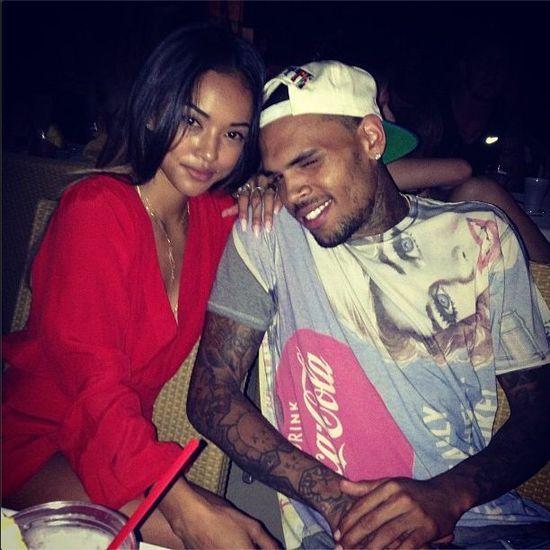 Chris Brown rozsta�by si� z Tran, gdyby zasz�a w ci���