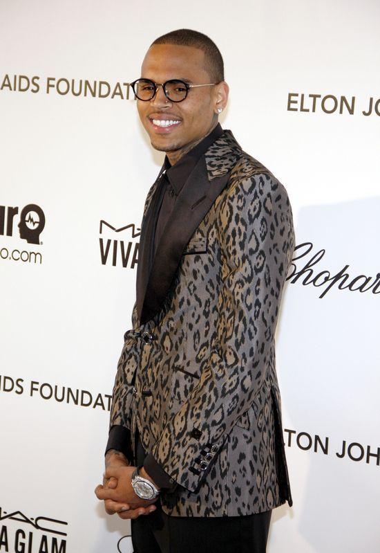 Nie do wiary! Chris Brown postanowił...