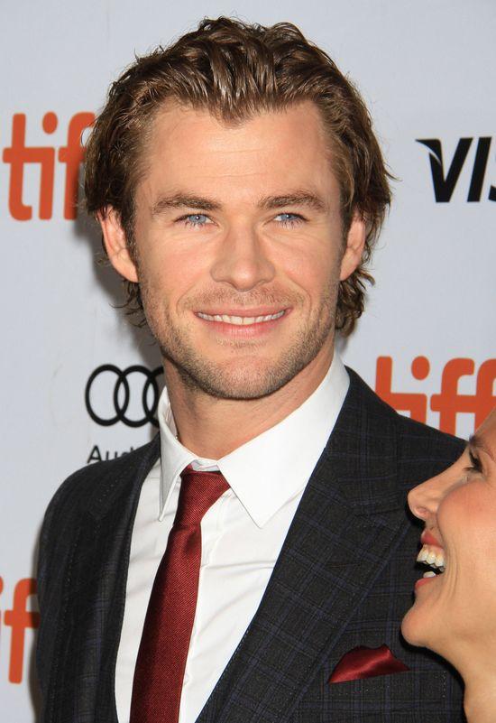Chris Hemsworth nie widział występu Miley Cyrus na VMA