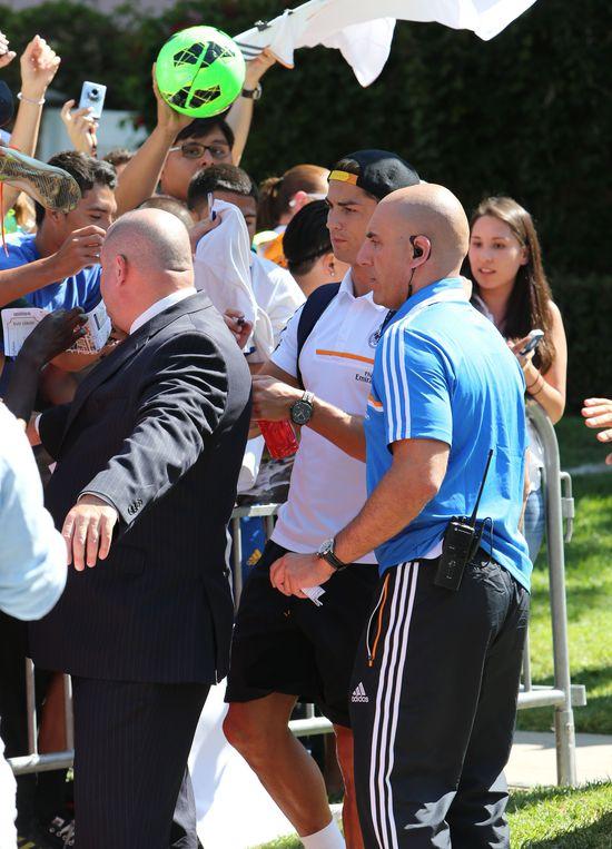 Cristiano Ronaldo nie może narzekać na brak fanów (FOTO)