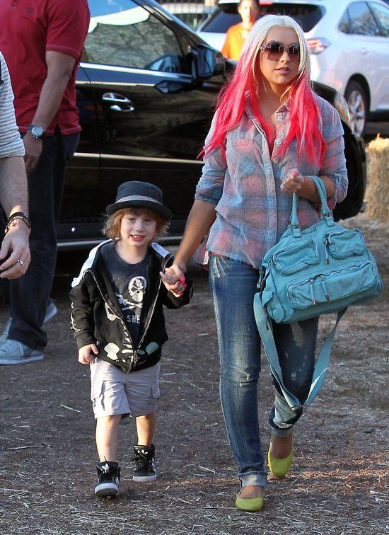 Christina Aguilera JEST W CIĄŻY!