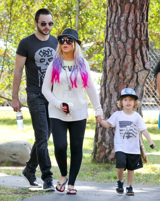 Christina Aguilera prawie jak Victoria Beckham (FOTO)
