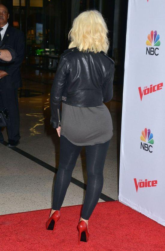 Christina Aguilera powiększyła pośladki?