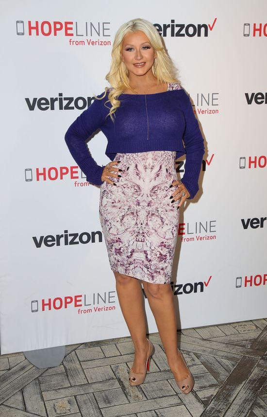 Christina Aguilera zamiesza zostawić swoje krągłości?