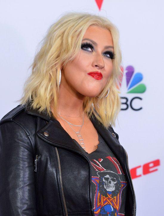 Christina Aguilera majstrowała przy twarzy?