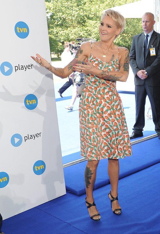 Agnieszka Chylińska pokazała nowe tatuaże (FOTO)