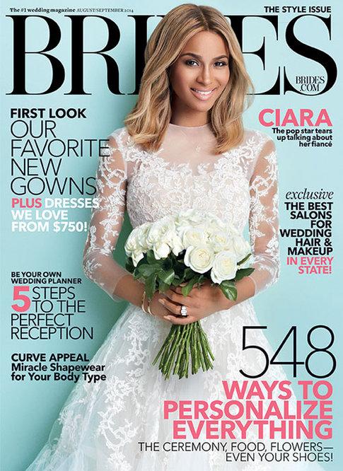 W jakiej sukni pójdzie do ołtarza Ciara?